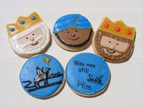 Three Wise Men cookies--Sweets By Sherie