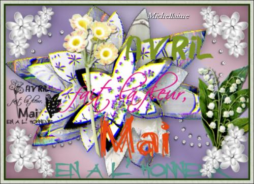 CREATIONS 1er MAI 2012