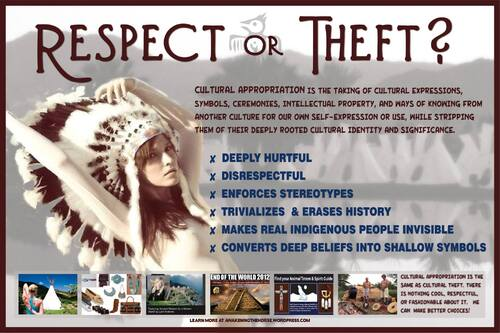"""Contre le """"vol"""" des symboles et des cultures amérindiennes"""