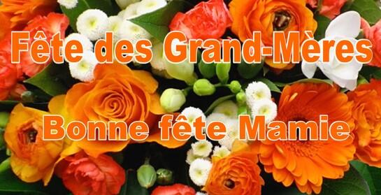 BONNE FETE DES GRANDS-MERES