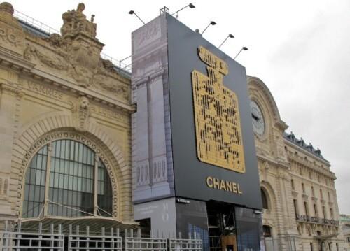 affiche géante Chanel musée d'Orsay 6085