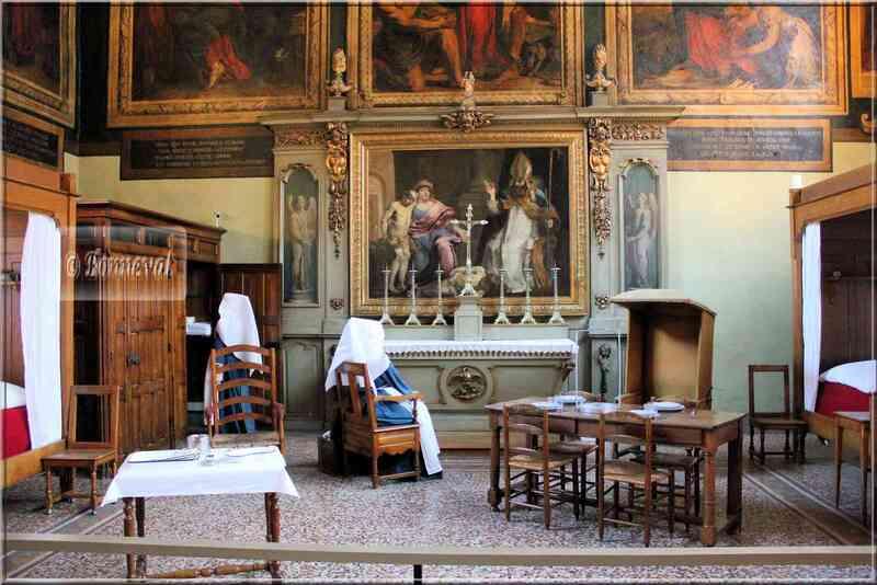 Bourgogne Les Hospices de Beaune Salle Saint-Hugues