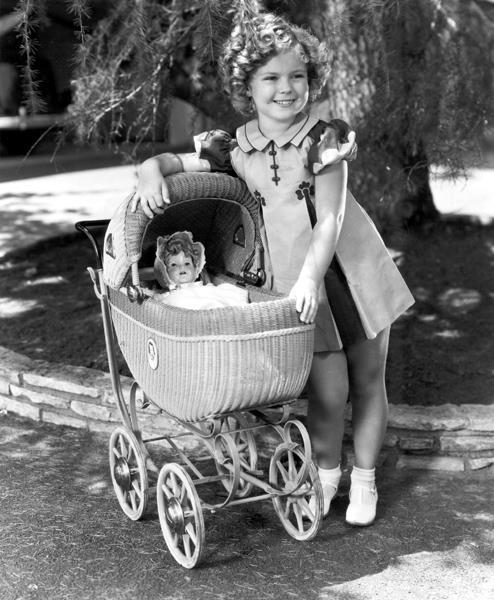Shirley et sa poupée