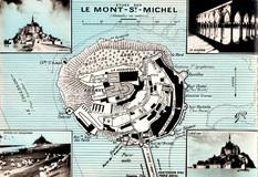 LES REMPARTS DU MONT-SAINT-MICHEL (Manche)