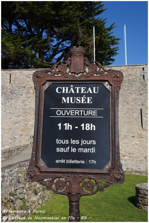 Château Musée de Noirmoutier en l'île