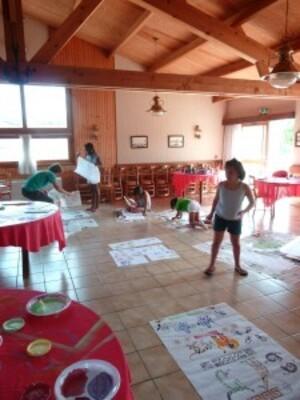 Atelier Livre pliage Pochoir 2