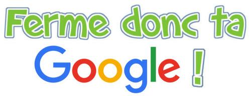 Google : shérif fais-moi peur...