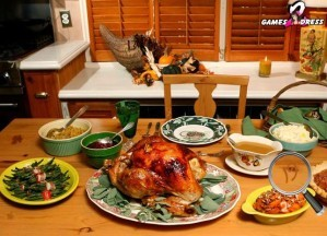 Turkey food - Hidden numbers
