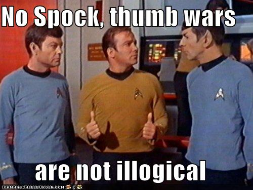 Spock Chef-Chéri Illogical