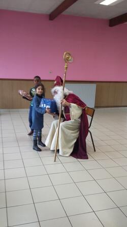 La venue de Saint-Nicolas