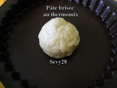 La pâte brisée au thermomix