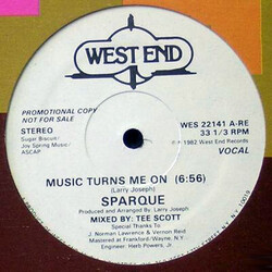 Sparque - Music Turns Me On