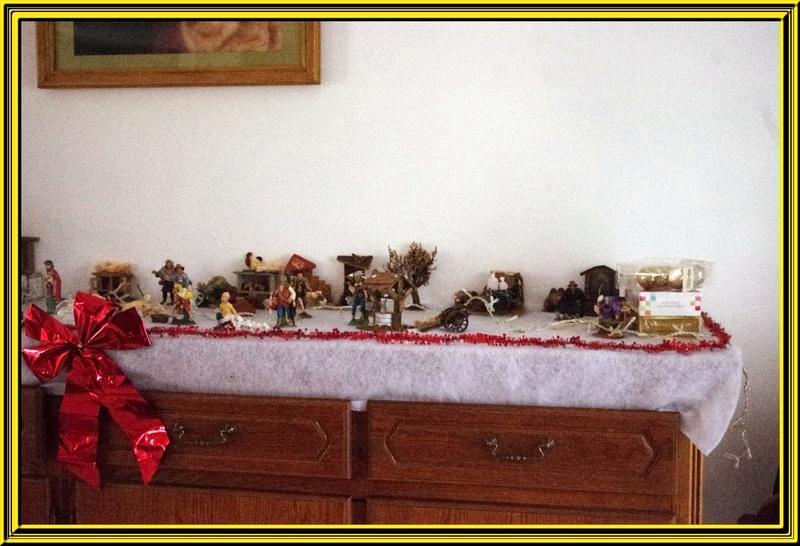 La maison est prête pour attendre le Père Noël