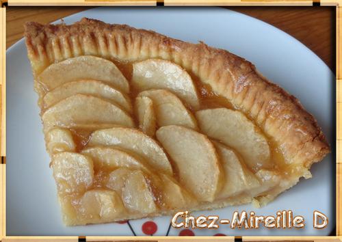 Tarte aux Pommes Croustillante et Brillante