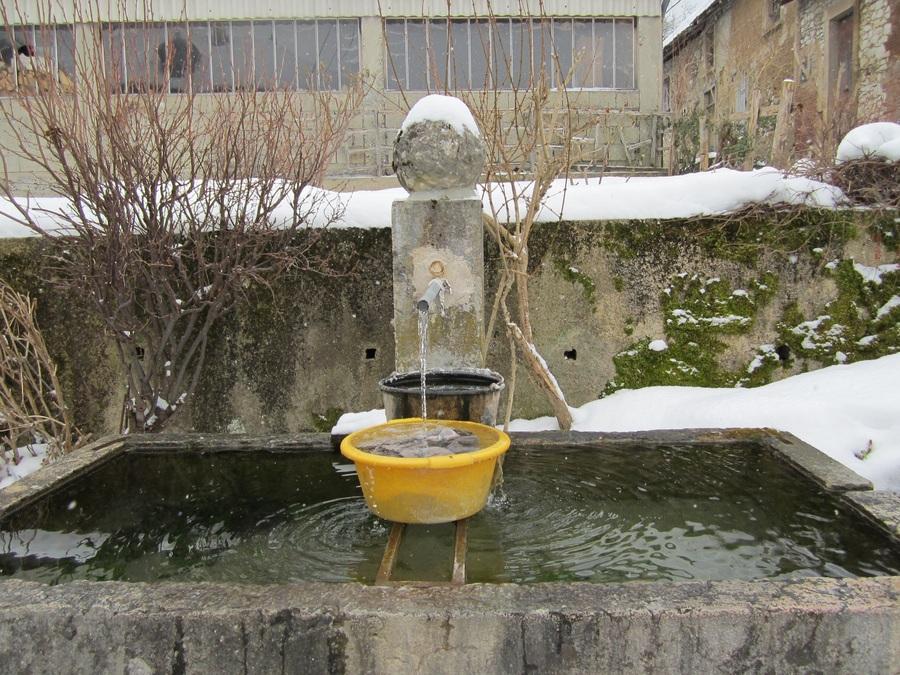 ..Des fontaines.