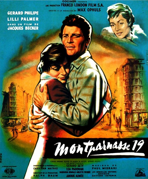 MONTPARNASSE 19 - BOX OFFICE LINO VENTURA 1958