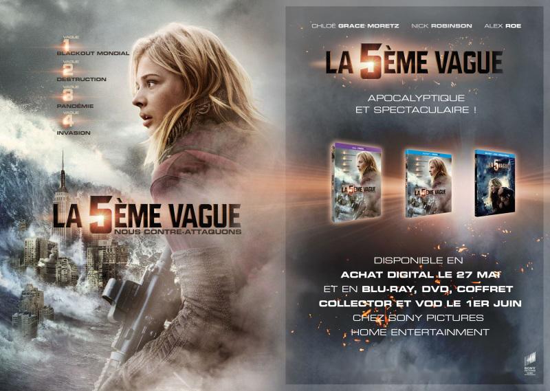 La 5ème Vague (BANDE ANNONCE) En achat digital le 27 mai 2016 et en Blu-ray, DVD, coffret collector et VOD le 1er juin 2016