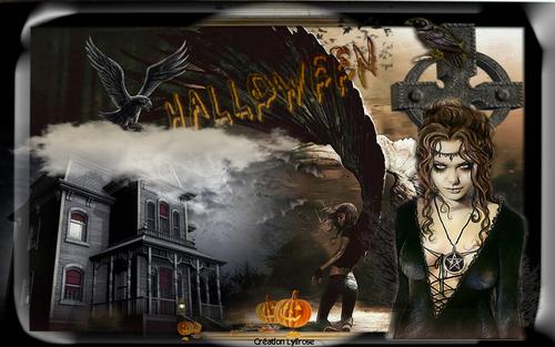 créations images Hallowen