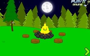Jouer à PlayItOnline - Spooky camp escape