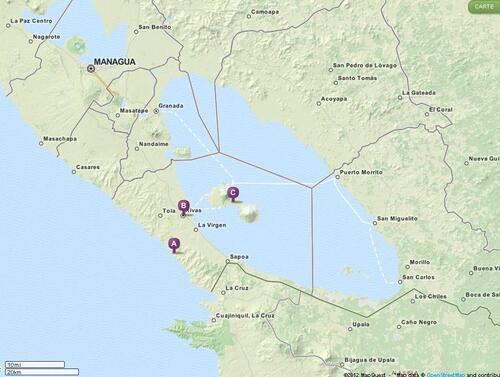 13.12.12 - San Juan del Sur > Rivas > Ometepe