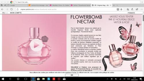 parfum à gagner