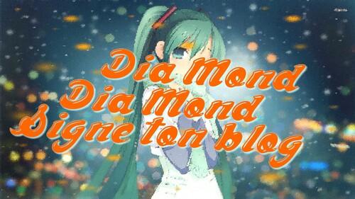Cadeau pour Dia Mond !