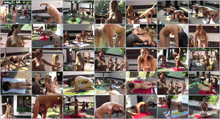 Naturist Freedom. Yoga And The Girls. DVD.