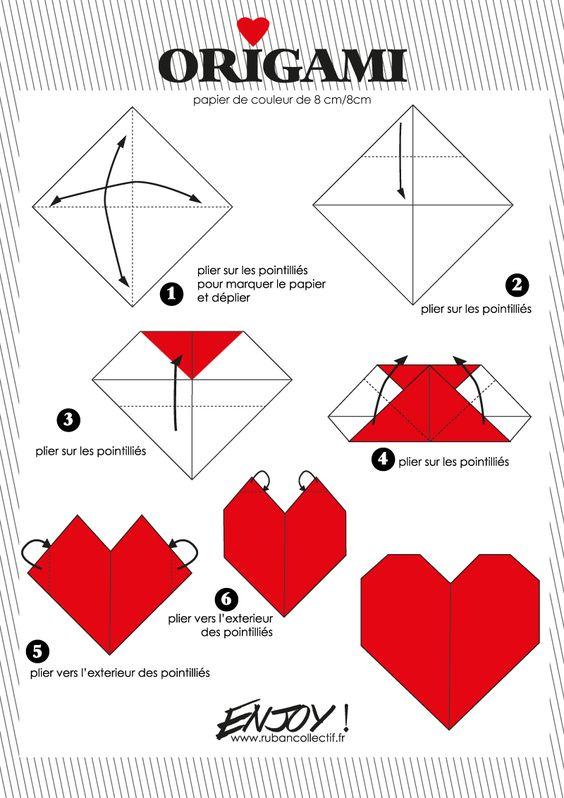 coeur-origami: