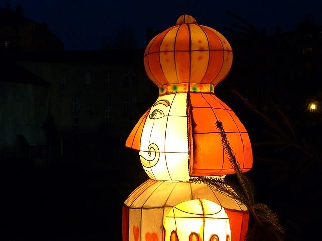 Metz Le sentier des lanternes 9 Marc de Metz 22 12 2012