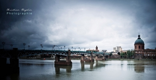 Toulouse, Depuis la place St Pierre | Photographies