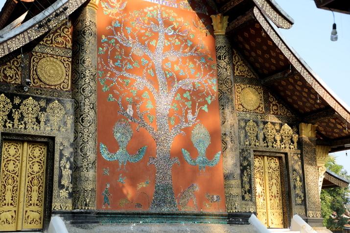 """Vat Xieng Thong le """"monastère de la cité d'or"""", Luang Prabang, Laos"""