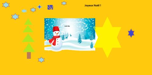 Les élèves du CE1b vous souhaitent de joyeuses fêtes en rimes ....