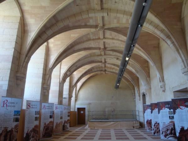 réfectoire de l'abbaye