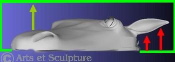 Technique du moulage contre-dépouille - Arts et Sculpture