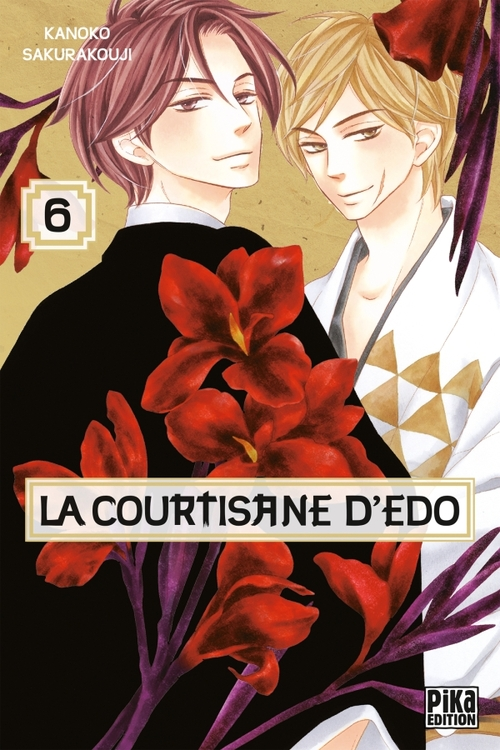 La courtisane d'Edo - Tome 06 - Kanoko Sakurakouji