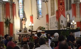 Le sanctuaire de Saint Germain s'apprête à célébrer la fête du Sacré-Cœur