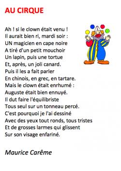 50 poésies de Maurice Carême