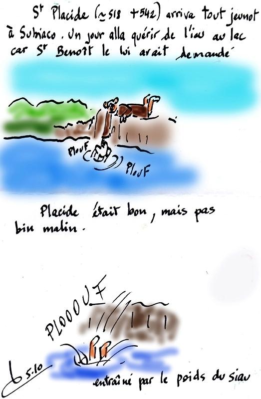 St du jour/Placide/Règle de St Benoît