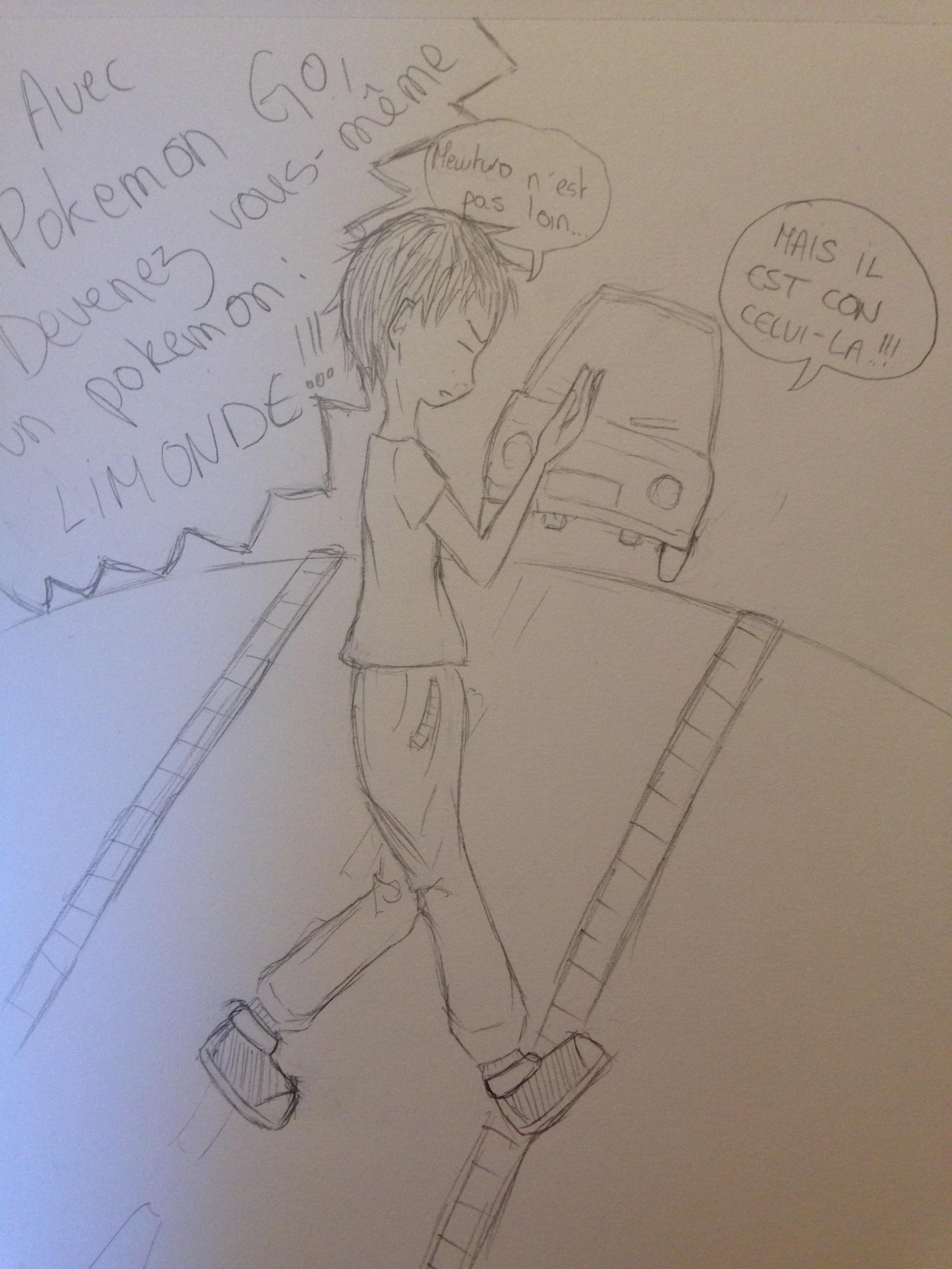 Concours #3 - Fais moi rire ! (dessin)