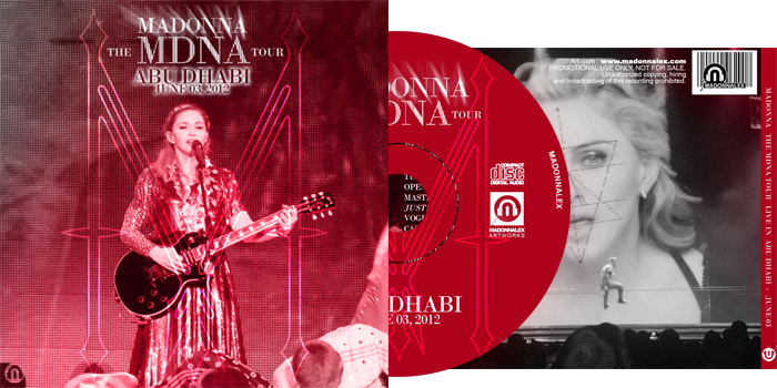 The MDNA Tour - Full Audio Abu Dhabi June 03