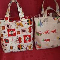 2 sacs de Noël