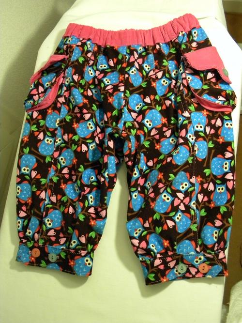 pantalon hiboux