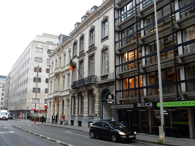 Bruxelles la rue de trêves