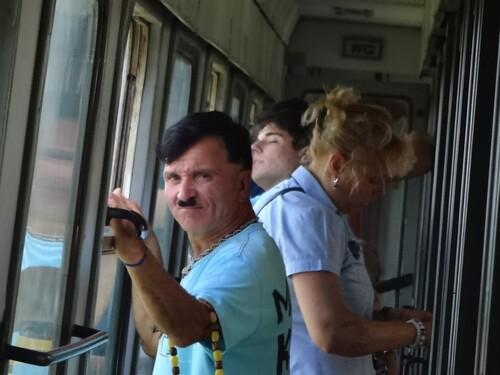 Lundi 13 août  Suvorovo – Dragizhevo (mais en train!)
