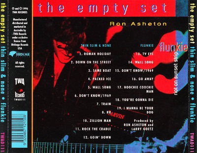 Rock ardu: The Empty Set - Thin , slim and None - Flunkie (1996)
