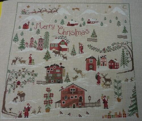 16ème objectif Christmas Village