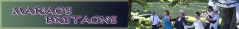 Bannière de Mariage Bretagne pour vos liens