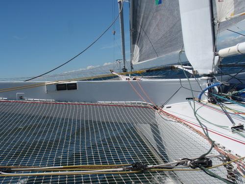 Une journée sur un voilier de course !