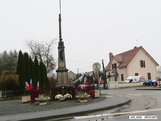 * Cérémonie du 73 anniversaire de la Libération de Champagney - Hommage au général Brosset, Plancher-Bas et Frahier.
