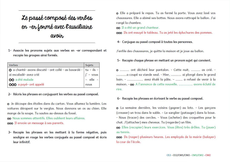 Grammaire Au Jour Le Jour Exercices De Structuration